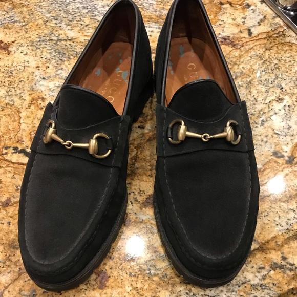 ac9722cb0 Mens Black Suede Bit Gucci Loafers. Gucci. M_5c4ea0003e0caad3e2525ca5.  M_5c4ea00204e33d7d8cc9bc8f. M_5c4ea005409c15fc33744926